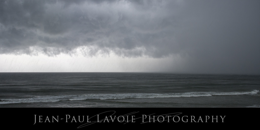 Topsail Storms: Rain on Waves