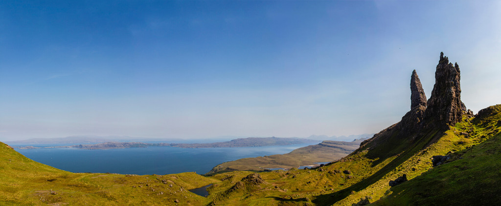 Scotland, Isle of Sky: Old Man of Storr