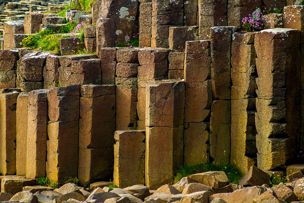 Giant's Causeway: Pillars